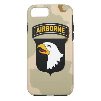 """101o División aerotransportada de """"Eagles griterío Funda iPhone 7"""