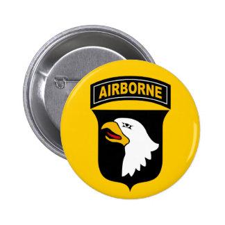 101o División aerotransportada Pin Redondo De 2 Pulgadas
