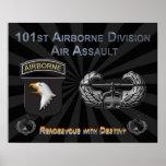 101o División aerotransportada Poster
