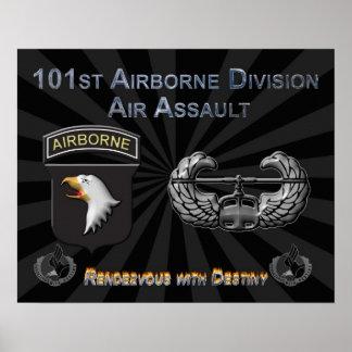 101o División aerotransportada Póster