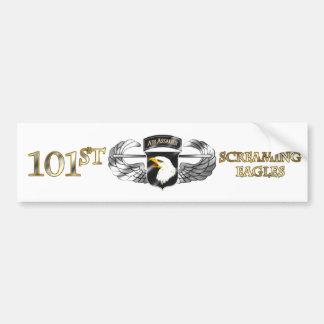 101o División de ataque aéreo Etiqueta De Parachoque