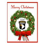 101o Postal militar aerotransportada del navidad