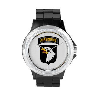 101o Reloj del logotipo de la división