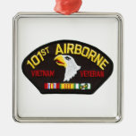 101o Veterano aerotransportado de Vietnam Adornos