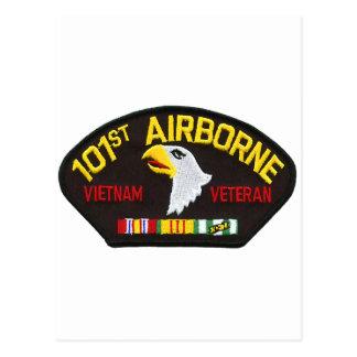 101o Veterano aerotransportado de Vietnam Postales