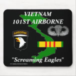 101o Vietnam aerotransportado Mousepad 2/b Alfombrillas De Raton