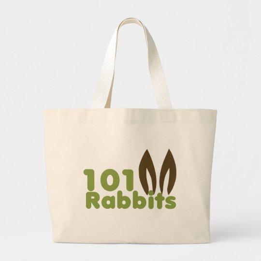 101Rabbits Gear Large Tote Bag