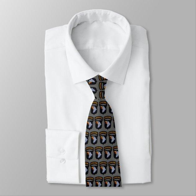 insignia Tie with U.S Army 101st Airborne Division Necktie