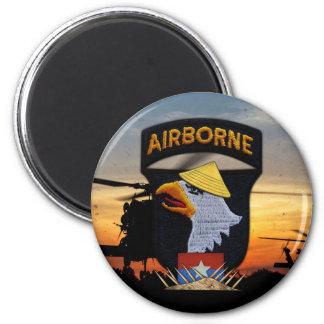 101st ABN Airborne Screaming Eagles Vietnam War Magnet