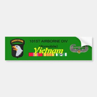 101st Abn Div Airmobile Vietnam Bumper Sticker