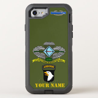 101st ABN DIV (RAIDERS) OtterBox Defender iPhone 8/7 Case