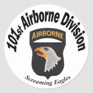 101st Abn. Stickers