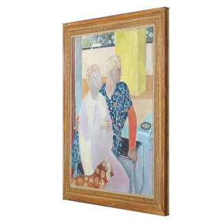 101st Afternoon with Penelope Canvas Print