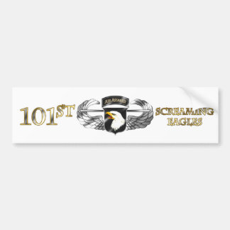 101st Air Assault Division Car Bumper Sticker
