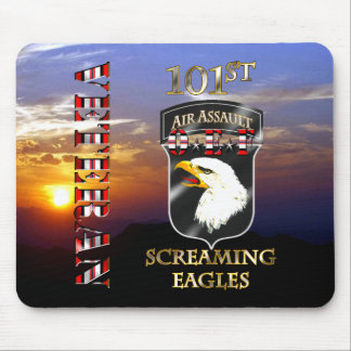 101st Air Assault Division OEF Veteran Mouse Pad