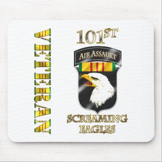 101st Air Assault Division Vietnam Veteran Mouse Pad
