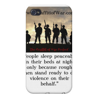 101st Airborne 320th F/A_BatteryB iPhone 4 Covers