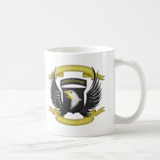 101st Airborne 3D Classic White Coffee Mug