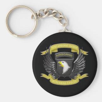 101st Airborne 3D Keychain