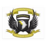 101st Airborne 3D Post Cards