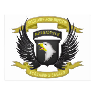 101st Airborne 3D Post Cards