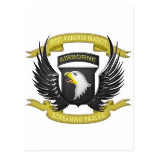 101st Airborne 3D Postcard