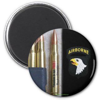 101st airborne beret flash patch iraq vet magnet