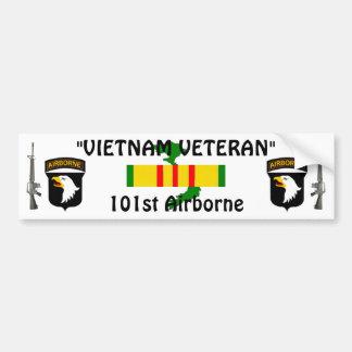 101st Airborne bumper sticker Car Bumper Sticker