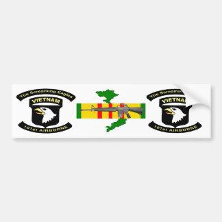 101st Airborne bumper sticker 2