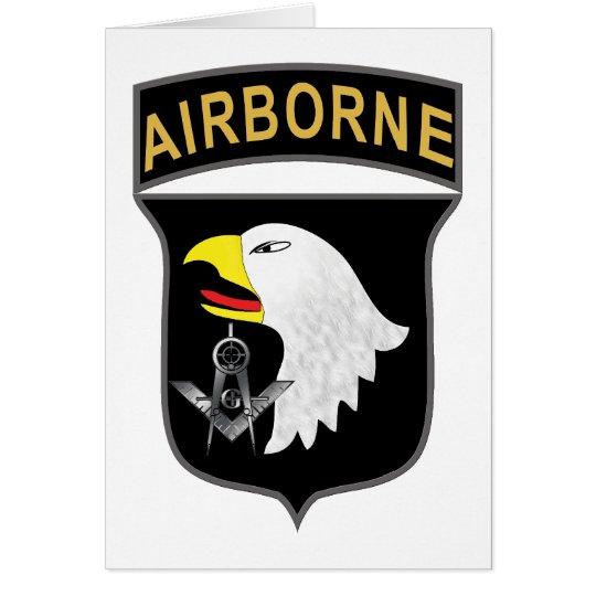 101st Airborne Card