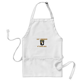 101st Airborne D-Day Normandy Adult Apron