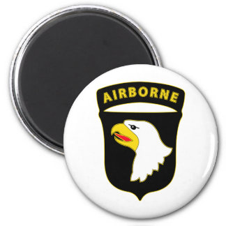 101st Airborne Div Combat Service Badge Magnet