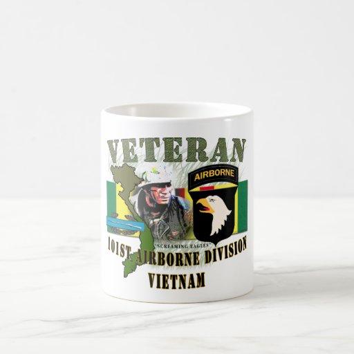 101st Airborne Div-Vietnam (w/CIB) Coffee Mug