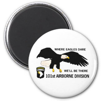 101st AIRBORNE DIVISION 2 Inch Round Magnet