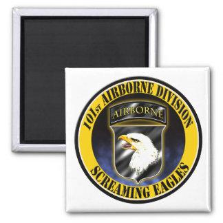 101st Airborne Division 2 Inch Square Magnet