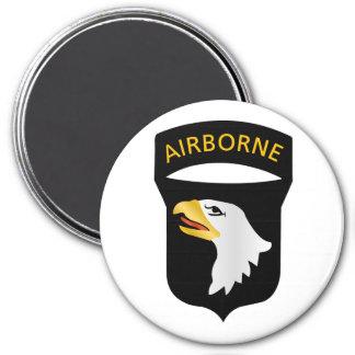 101st Airborne Division 3 Inch Round Magnet