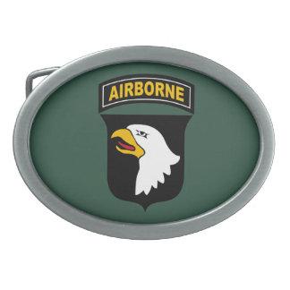101st Airborne Division Oval Belt Buckles