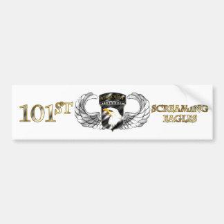 101st Airborne Division Car Bumper Sticker