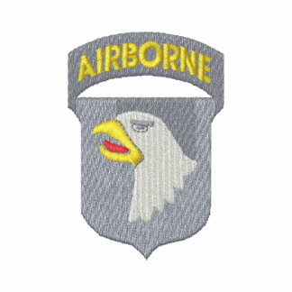 101st. Airborne Division Embroidered Shirt