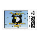 101st airborne division fort campbell iraq postage