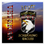 101st Airborne Division OEF Veteran Posters