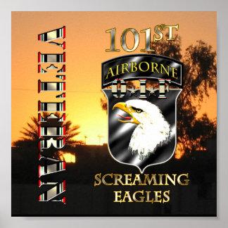 101st Airborne Division OIF Veteran Poster