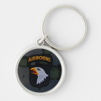 101st Airborne Division Patch Keychain