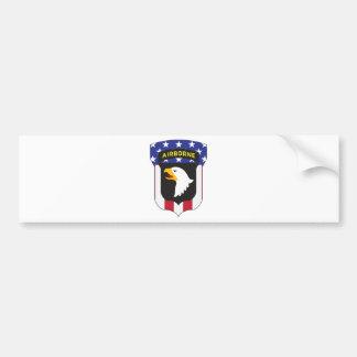101ST AIRBORNE DIVISION PATRIOT BUMPER STICKER