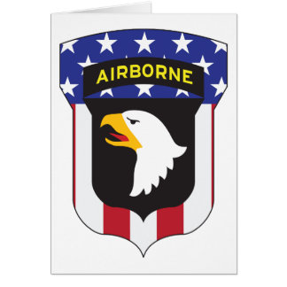 101ST AIRBORNE DIVISION PATRIOT CARD