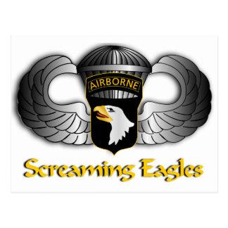 101st Airborne Division Postcard