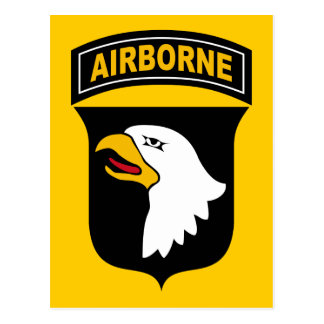 101st Airborne Division Post Card