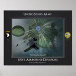 101st Airborne Division Poster
