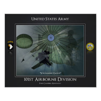 101st Airborne Division Poster