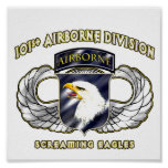 101st Airborne Division Posters